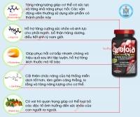 Sản phẩm hỗ trợ tăng cơ bắp Groloid