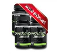 Khuyến mãi giảm giá 20% giá trị sản phẩm khi mua gói 3 sản phẩm tăng cơ Groloid