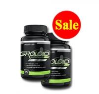 Khuyến mãi giảm giá 10% giá trị sản phẩm khi mua gói 2 sản phẩm tăng cơ Groloid