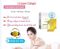 Tắm trắng toàn thân La'Queen Collagen