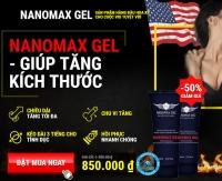 Nanomax Gel tăng kích thước dương vật nhanh chóng