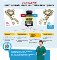 Cravimax-Pro hỗ trợ điều trị xuất tinh sớm nhanh chóng