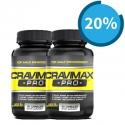 Giảm 20% cho combo 2 lọ viên uống hỗ trợ điều trị xuất tinh sớm Cravimax-Pro