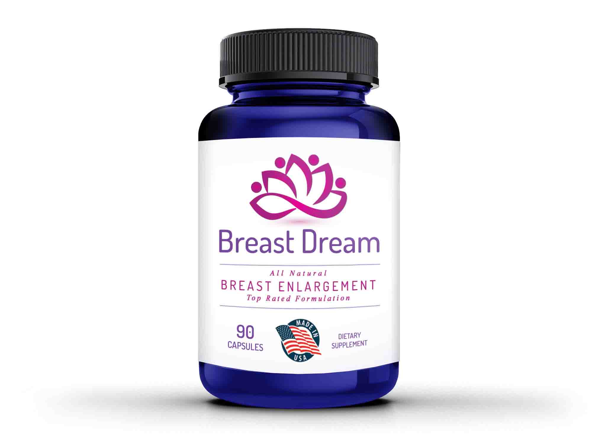 vien-uong-breast-dream bottle rendering-front