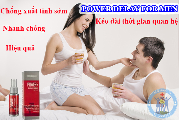 Power Delay For Men hỗ trợ chống xuất tinh sớm